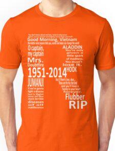 RIP Robin Williams - Tribute Unisex T-Shirt