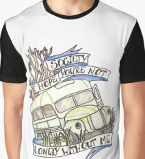 """Into the Wild """"Society"""" Graphic T-Shirt"""
