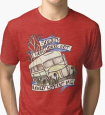 """Into the Wild """"Society"""" Tri-blend T-Shirt"""