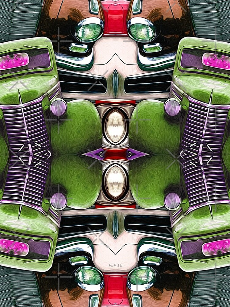 Abstract Auto Artwork Two by perkinsdesigns