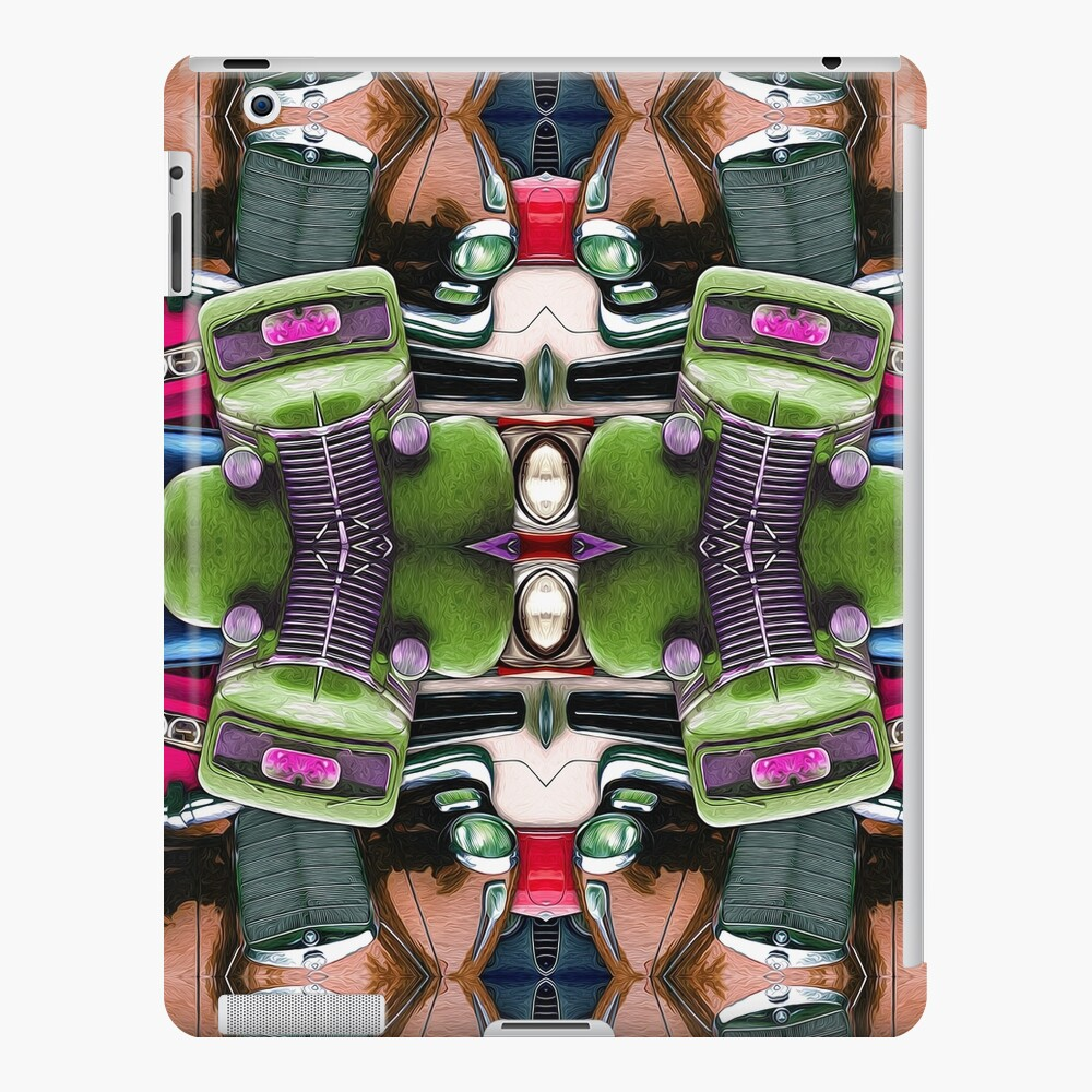 Abstract Auto Artwork Two iPad Case & Skin