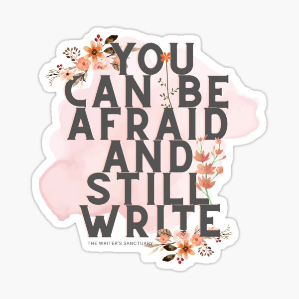 Write Brave Sticker
