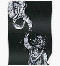 astronaut iphone case Poster