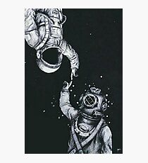astronaut iphone case Photographic Print