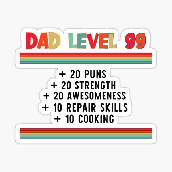 Level 99 Stickers | Redbubble