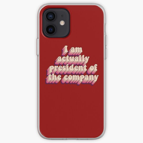 I am actually president of the company iPhone Soft Case