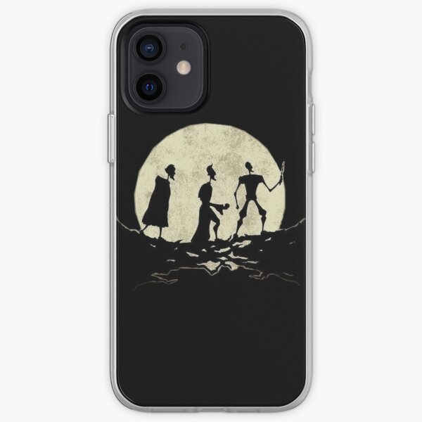 moon steps iPhone Soft Case