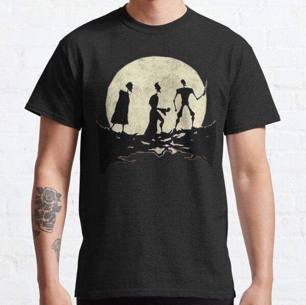 pasos de luna Camiseta clásica