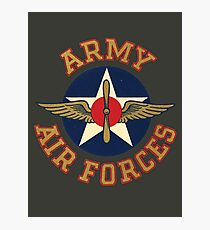 Army Air Forces Emblem  Photographic Print