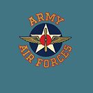 Army Air Forces Emblem  by warbirdwear
