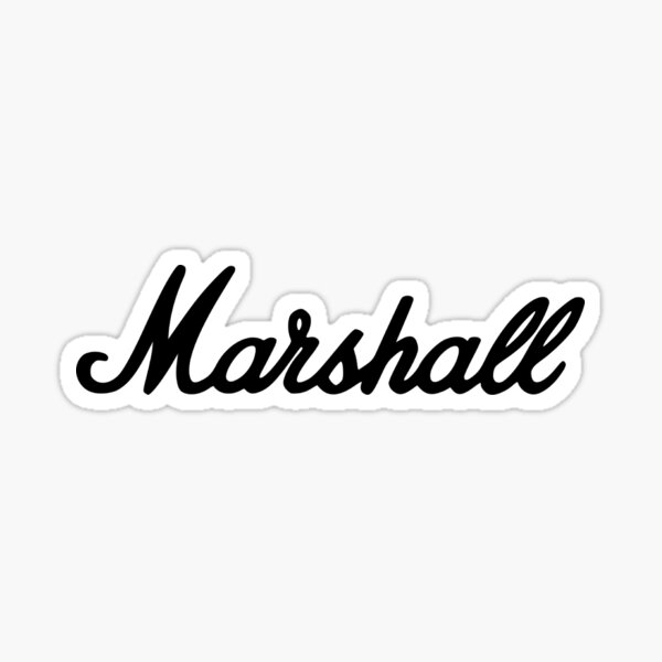 Marshall Guitar Amplifier Classic Sticker