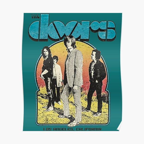 The Doors Band the door, los angels Poster