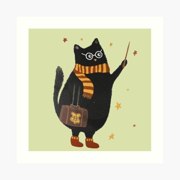 amante de los gatos Lámina artística