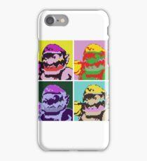 Wario Warhol iPhone Case/Skin
