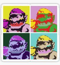 Wario Warhol Sticker