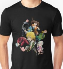 The Seven deadly sins Slim Fit T-Shirt