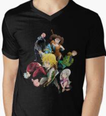 The Seven deadly sins Men's V-Neck T-Shirt