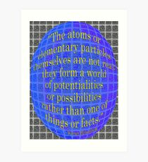 A World of POSSIBILITIES Art Print