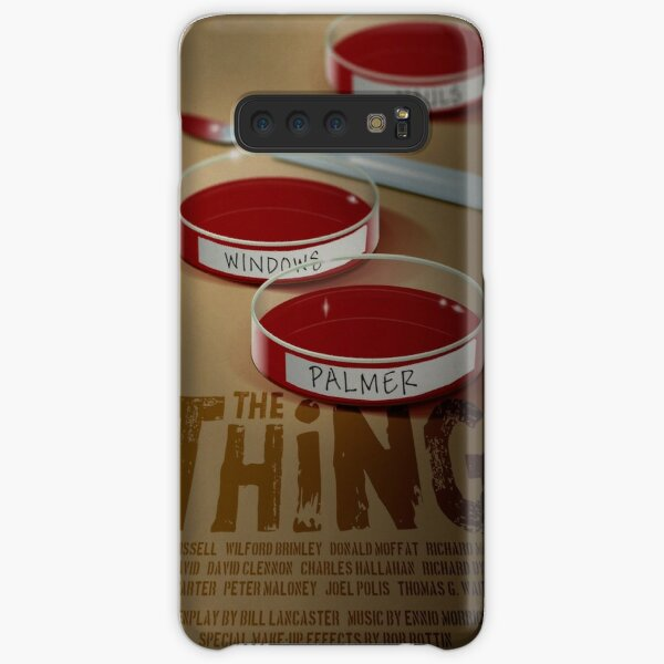 The Thing 1982 horror movie classic Samsung Galaxy Snap Case