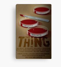 The Thing 1982 horror movie classic Canvas Print