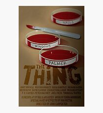 The Thing 1982 horror movie classic Photographic Print
