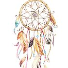 Dreamcatcher Feathers in Natural by CobyLyn
