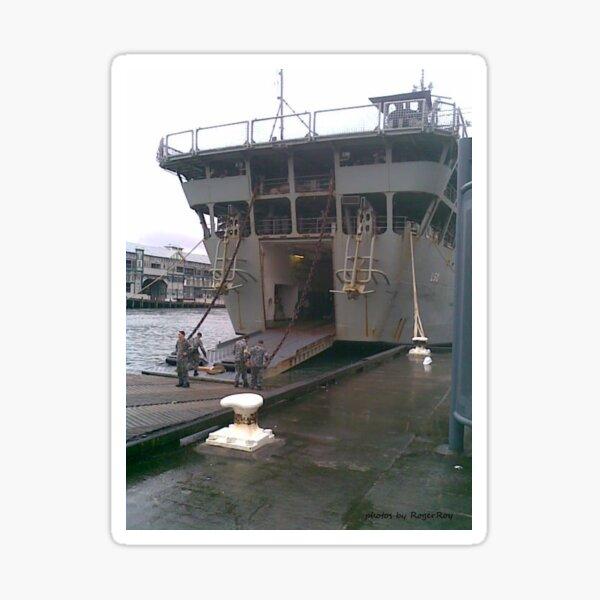 HMAS Tobruk in Sydney c2010 Sticker