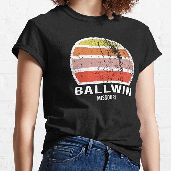 Ballwin Missouri Abstract Vintage Sunset Souvenir Classic T-Shirt