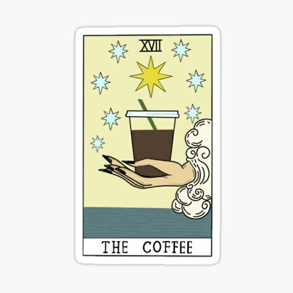 DER KAFFEE Sticker