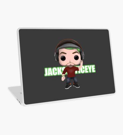 Jacksepticeye Pop! Vinyl Design (Green w/ Headphones) Laptop Skin