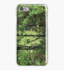 Fence on a Farm iPhone Case/Skin
