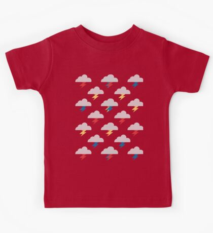 Thunderclouds Kids Clothes