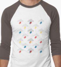 Thunderclouds Men's Baseball ¾ T-Shirt