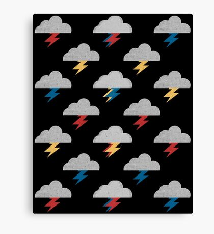 Thunderclouds Canvas Print