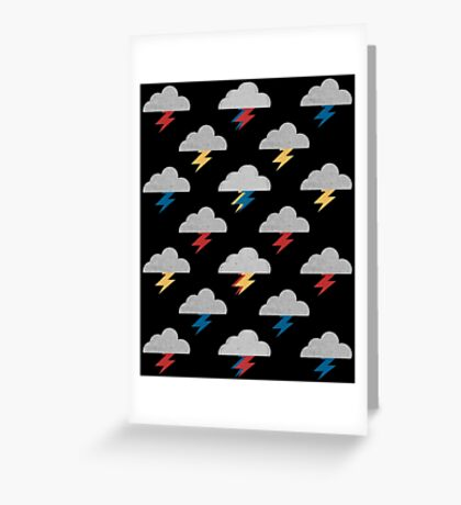 Thunderclouds Greeting Card