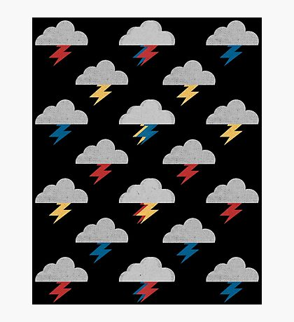 Thunderclouds Photographic Print