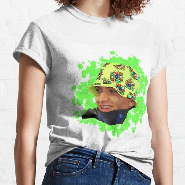 Lando Norris in Valentino Rossi hat Classic T-Shirt