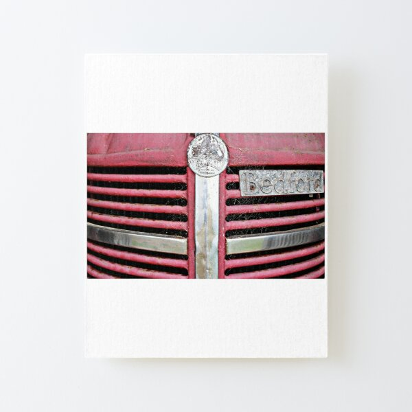 Red Grill (Bedford Truck) Canvas Mounted Print