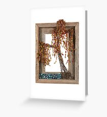 Autumn Willow Tree Greeting Card