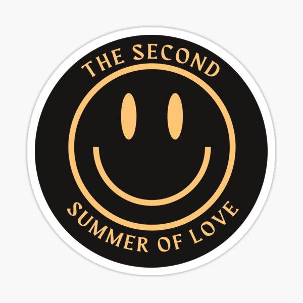 Second Summer of Love Sticker