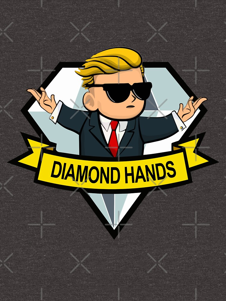 Diamond Hands High Quality by RedXIV