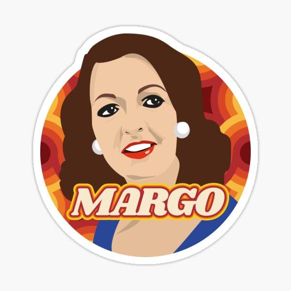 Margo Leadbetter 70s Style Sticker
