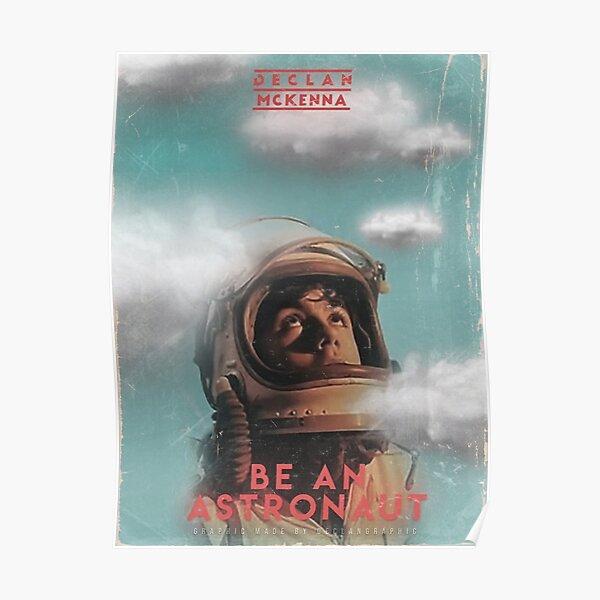Declan McKenna Be An Astronaut Poster Poster