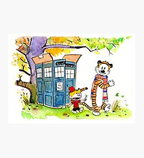 Adventure in Time & Space! Photographic Print