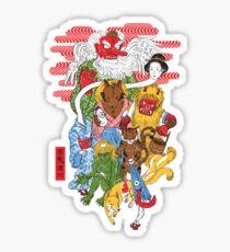 Monster Parade Sticker