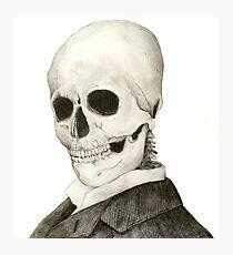 Tesla Skeleton Photographic Print
