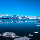 Ice lagoon 3 Iceland by Chris Thaxter