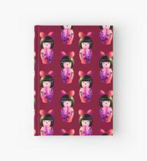 Kokeshi Pattern Hardcover Journal