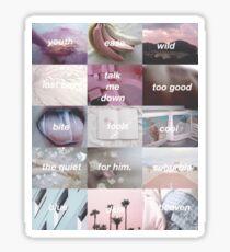 BLUE NEIGHBOURHOOD AESTHETIC - Troye Sivan Sticker