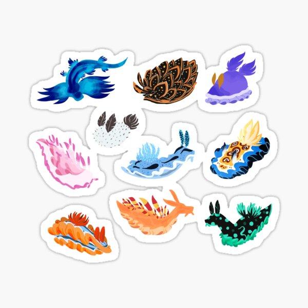 Meeresschnecken Sticker
